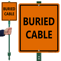 Buried Cable Sign
