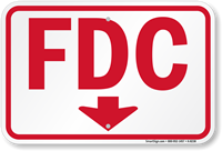 FDC Downward Pointing Arrow