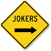Jokers with Right Arrow