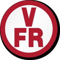 V F/R Floor/Roof Truss Sign Circular