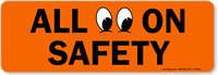 All Eyes on Safety Label