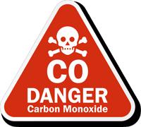 Danger Carbon Monoxide Sign Sku Lb 2988 Mysafetysign Com