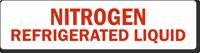 Nitrogen Refrigerated Liquid Safety Label