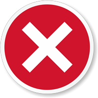 Red Cross Marking Label