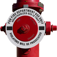Violators Prosecuted Fire Hydrant Ring