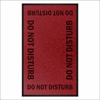 Do Not Disturb Safety Message Mat