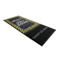 StepWell™ Sanitizing Mat Wipe And Dry Zone yellow