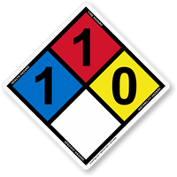 NFPA Hazmat Sign