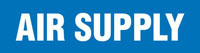 Air Supply (Blue) Adhesive Pipe Marker