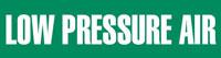 Low Pressure Air (Green) Adhesive Pipe Marker