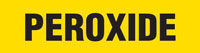 Peroxide (Yellow) Adhesive Pipe Marker