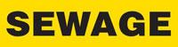Sewage (Yellow) Adhesive Pipe Marker