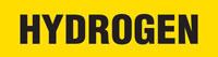 Hydrogen (Yellow) Wrap Around Pipe Marker