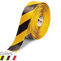3 in. Striped Floor Marking Tape