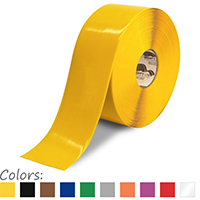 4 in. Solid Floor Marking Tape