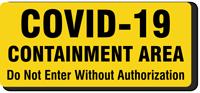 COVID-19 Containment Label
