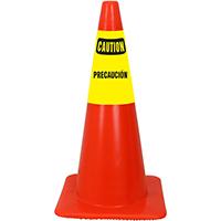 Caution Precaucion Cone Collar