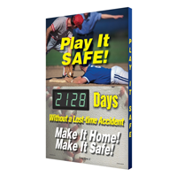 Play It Safe! Make It Safe! Sign