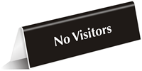 No Visitors