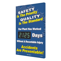 Safety Priority Quality Standard Safety Scoreboards