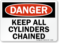 Danger: Keep All Cylinders Chained
