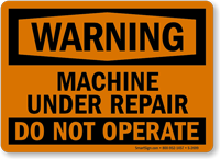 Warning: This Equipment Starts Automatically