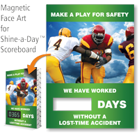 Make Play From Safety, Basketball Theme Scoreboard Face