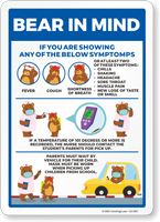 Bear In Mind: If You Are Showing These Symptoms Chart Sign