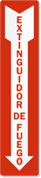 Extinguidor De Fuego Sign