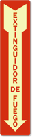 Extinguidor De Fuego Spanish Sign