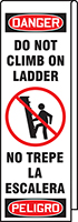 Do Not Climb Ladder Shield Wrap