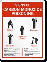 Carbon Monoxide Poisoning Sign