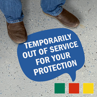 Chat Bubble - Temporarily Out of Service for Your Protection