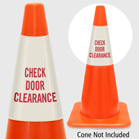 Check Door Clearance Cone Collar