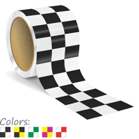Checkerboard Floor Marking Tape