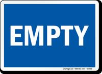 Empty (blue)