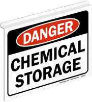 Danger Chemical Storage