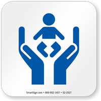 Child Care Center Symbol NFPA 170 Sign
