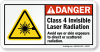 Avoid Eye Or Skin Exposure Sign