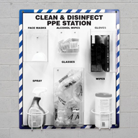 Clean and Disinfect Supply Station