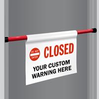 Custom Do Not Enter Door Barricade Sign