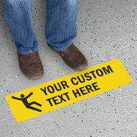 Customizable Slipsafe Floor Sign