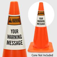 Custom Warning Cone Collar