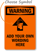 Warning: ADD YOUR OWN WORDING HERE