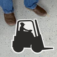 Cut to Shape Forklift SIgn