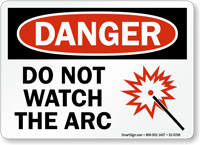 Do Not Watch Arc Sign