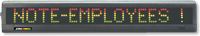 Electronic Moving Message Displays Sign
