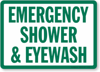 Emergency Shower & Eyewash