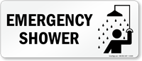 Emergency Shower (with graphic)