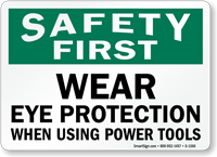 Safety First Eye Protection Using Power Tools